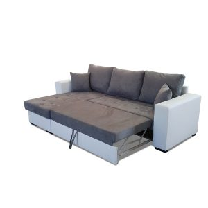 Latte U Shape Sofa Bed Home Sofa