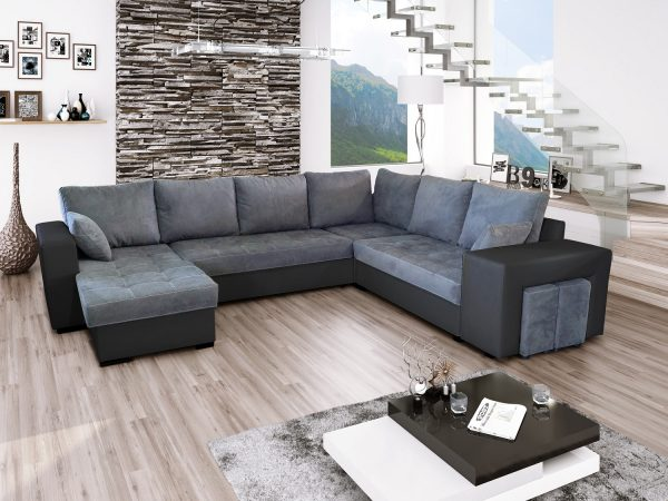Image Result For Leather Sectional Sofa Bed With Reversible Chaise In